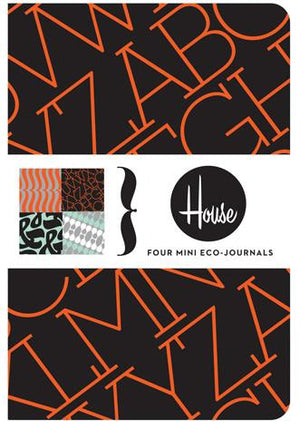 House Industries Four Mini Eco-Journals