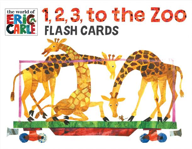 The World of Eric Carle 1, 2, 3, to the Zoo Flash Cards