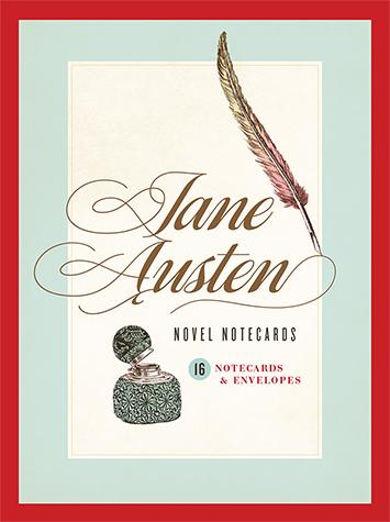 Jane Austen Novel Notecards