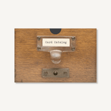 Card Catalog: 30 Notecards
