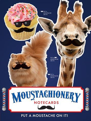 Moustachionery Notecards