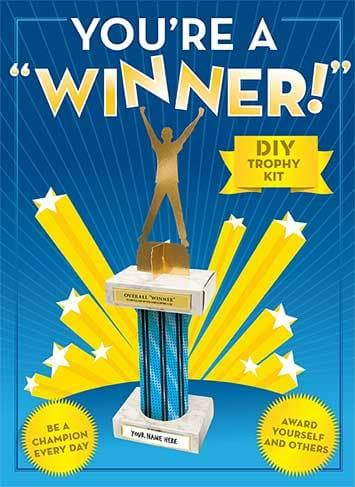 You're a Winner! Trophy Kit