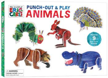 The World of Eric Carle™ Punch-Out & Play Animals