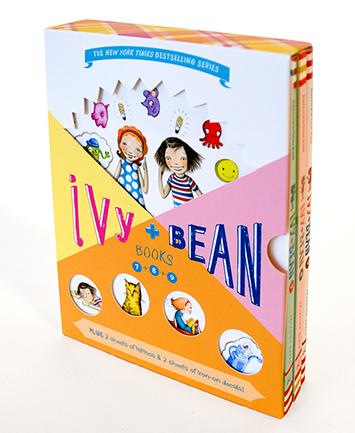 Ivy & Bean Boxed Set 3 (Books 7-9)