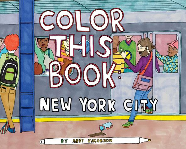 Color this Book: New York City