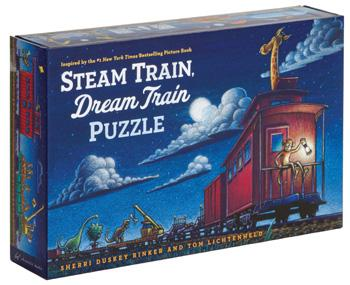 Steam Train  Dream Train Puzzle