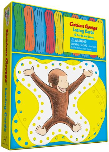 Curious George® Lacing Cards