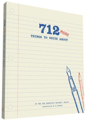 712 More Things to Write Journal