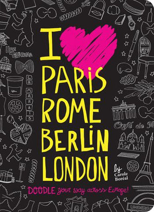 I Love Paris, Rome, Berlin, London