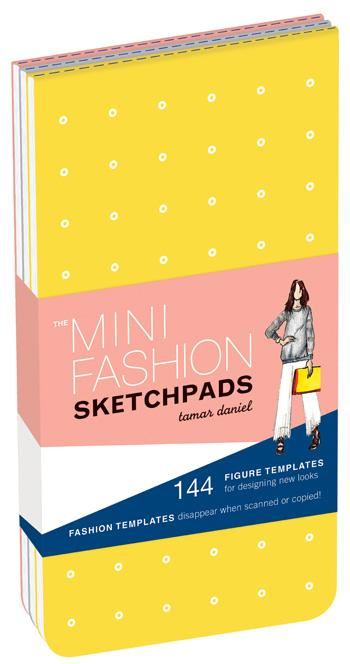 The Mini Fashion Sketchpads