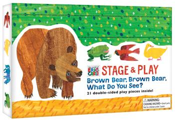 The World of Eric Carle™ Stage & Play: Brown Bear, Brown Bear, What Do You See?