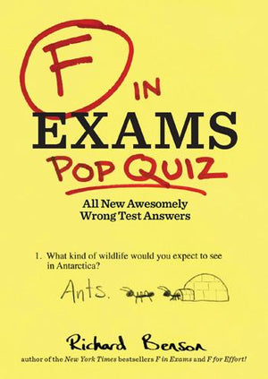 F in Exams: Pop Quiz