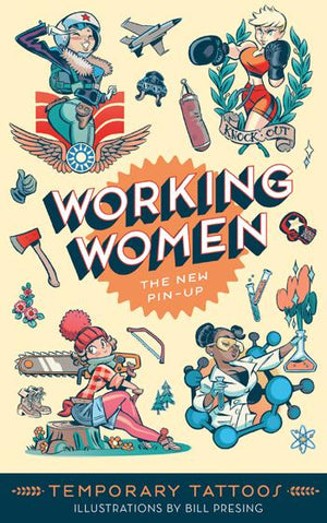 Working Women: The New Pin-Up