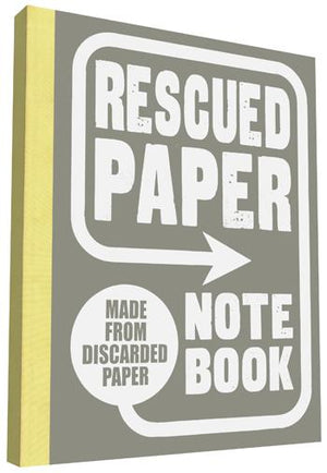 Rescued Paper Notebook  large