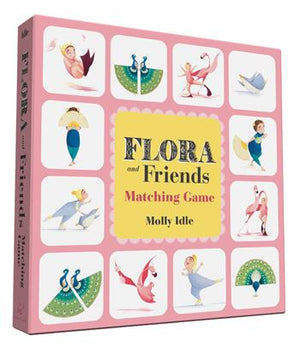 Flora and Friends Matching Game