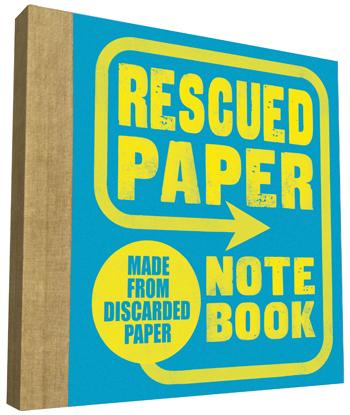 Rescued Paper Notebook: Small