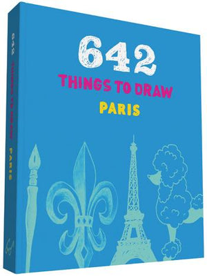 642 Things to Draw: Paris (pocket-size)