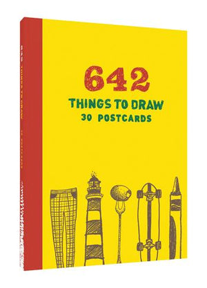 642 Things to Draw: 30 Postcards