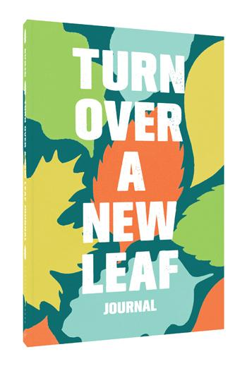 Turn Over a New Leaf Journal