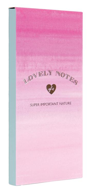 Lovely Notes: Pink Ombre