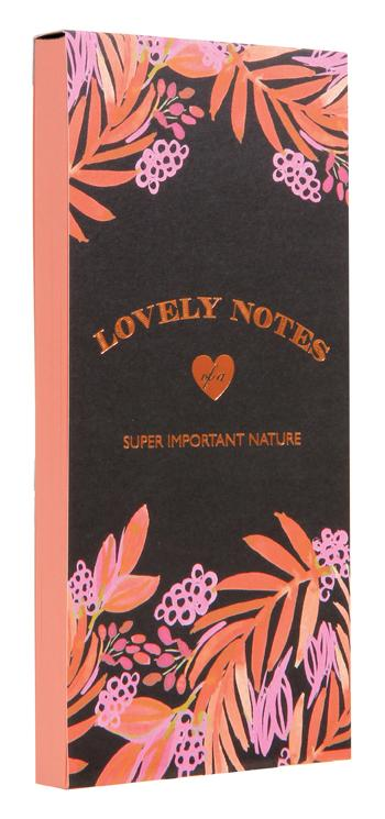 Lovely Notes: Berries and Leaves