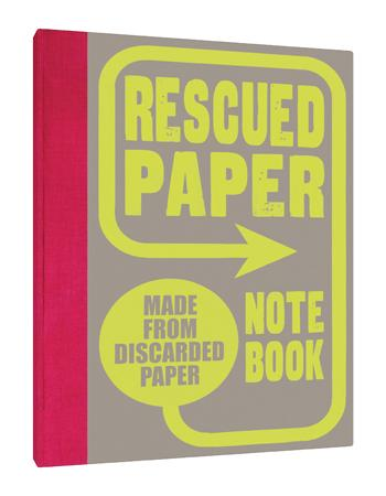 Rescued Paper Notebook - Hardcover