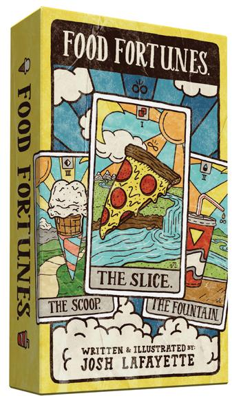 Food Fortunes tarot deck