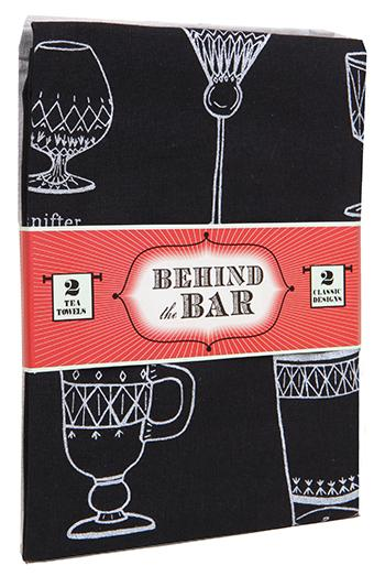 Behind the Bar: 2 Tea Towels