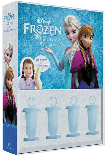 Frozen Icicle Pops and Cool Creations