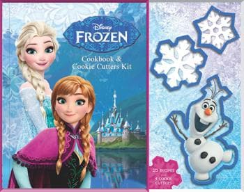 Frozen Cookbook & Cookie Cutters Kit