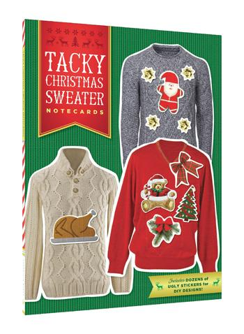 Tacky Christmas Sweater Notecards