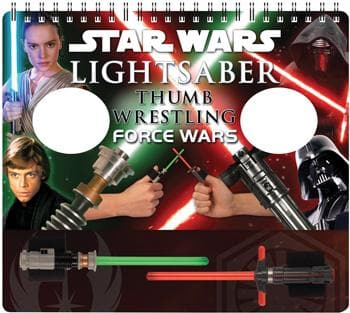 Star Wars Lightsaber Thumb Wrestling Force Wars
