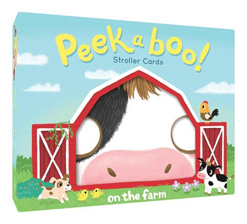 Peekaboo! Stroller Cards: On the Farm