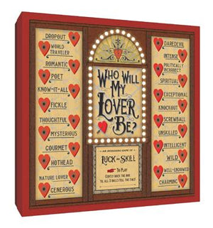 Who Will My Lover Be? Game Box