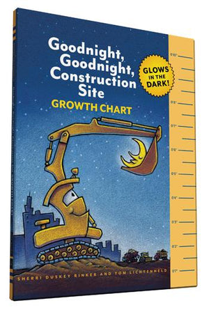 Goodnight, Goodnight, Construction Site Glow in the Dark Growth Chart