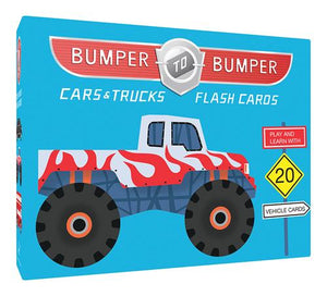 Bumper-to-Bumper Cars & Trucks Flash Cards