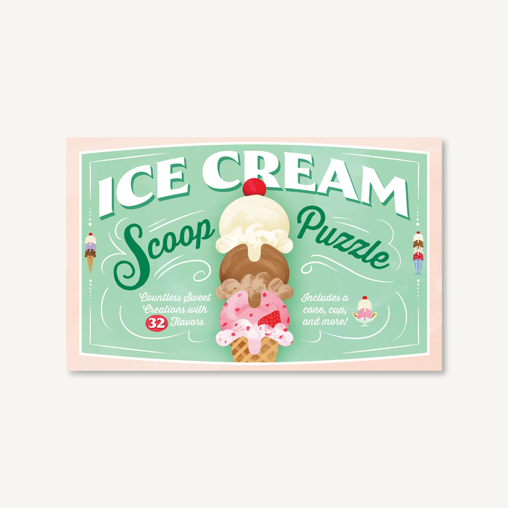 Ice Cream Scoop Puzzle