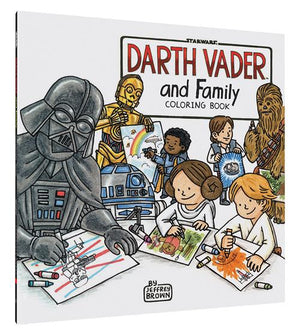 Darth Vader and Family Coloring Book