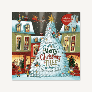 Merry Christmas Tree Pop-Up Advent Calendar