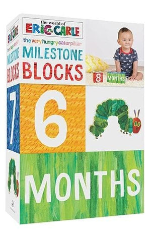 World of Eric Carle Very Hungry Caterpillar Milestone Blocks