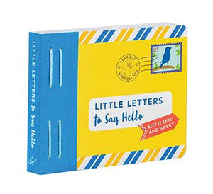 Little Letters to Say Hello