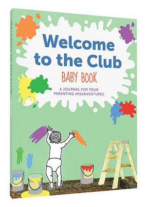 Welcome to the Club Baby Book