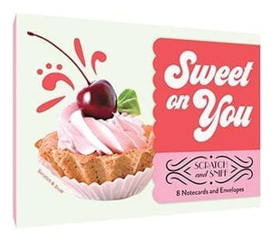 Sweet on You: 8 Notecards and Envelopes