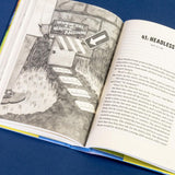 Illustrations from the middle-grade novel A Girl, a Raccoon, and the Midnight Moon, By Karen Romano Young, Illustrated by  Jessixa Bagley
