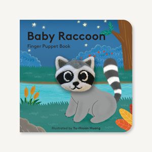 Baby Raccoon: Finger Puppet Book