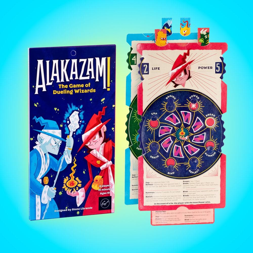 Alakazam! The Game of Dueling Wizards game pieces