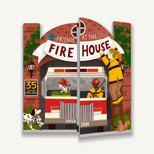Friends at the Firehouse
