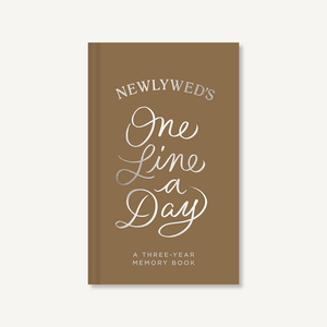 Newlywed's One Line a Day