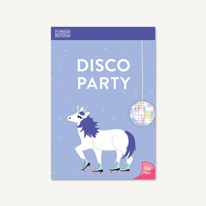 Flipbook Notepad: Disco Party