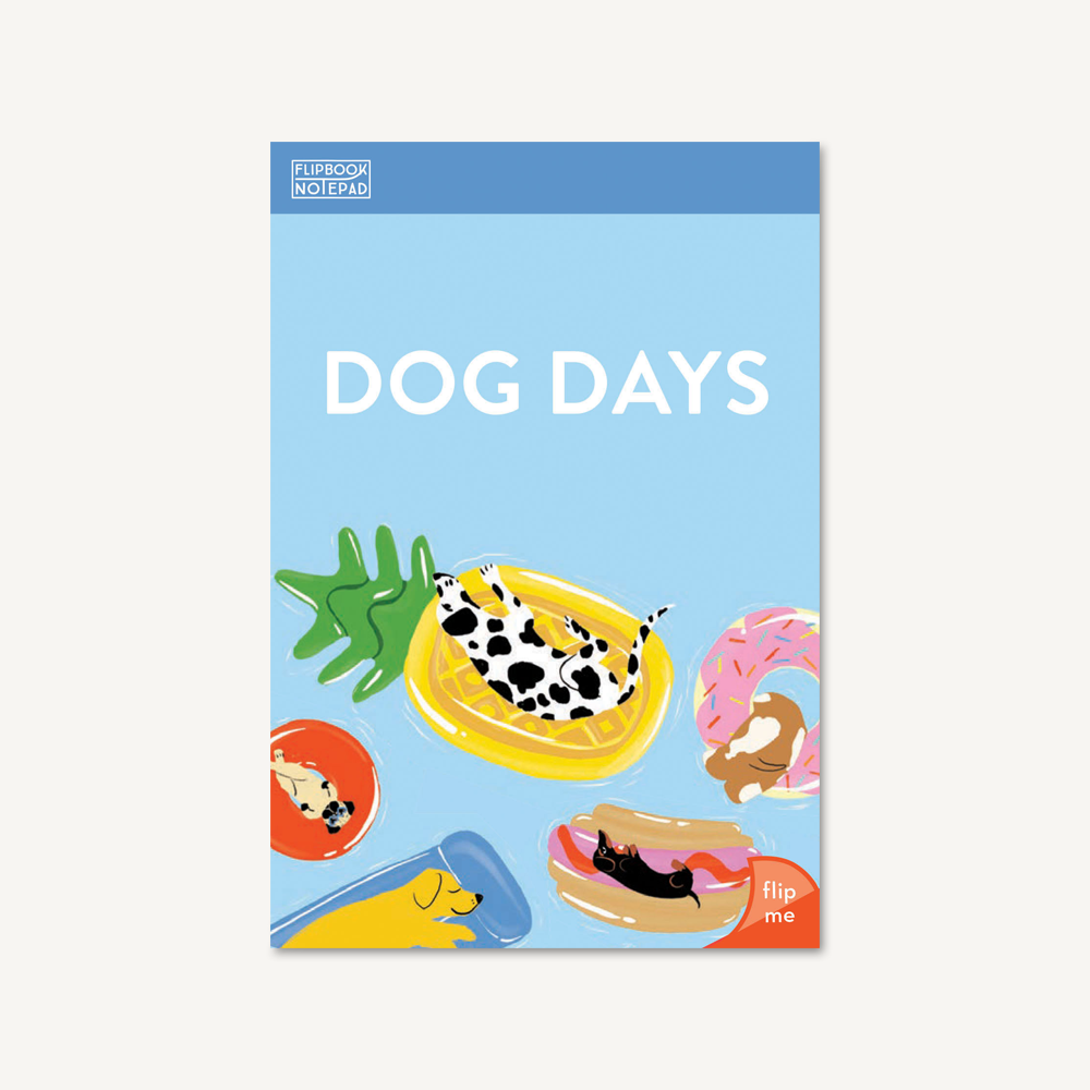 Flipbook Notepad: Dog Days